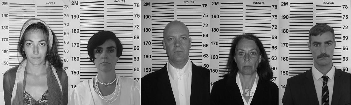 Suspects devant la toise anthropométrique
